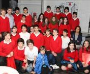 Alumnos de 1º A de la Eso de Maristas