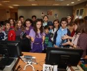 Alumnos de 6º de Primaria del Colegio Milenario de la lengua