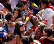 Cohete de las fiestas 2011