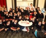 Visita de los alumnos de 4º A del Colegio La Enseñanza
