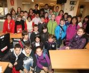 Visita de los alumnos del CRA Entrevalles de Badarán