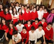 Alumnos de 1º B de la Eso de Maristas