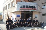 Visita de los alumnos de Escolapias de Primero A