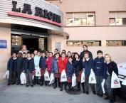 Visita de los alumnos de 4ºB del Colegio La Enseñanza