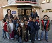 Visita de 3º de infantil del Colegio San Francisco