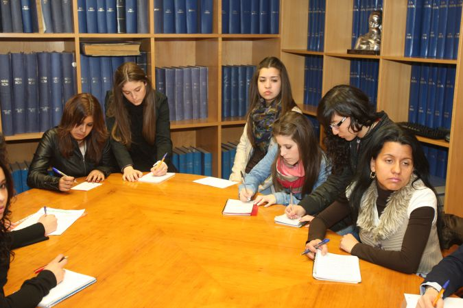Alumnas del Centro FP La Planilla-1